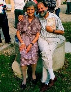 Ernesto con sua moglie Ruth